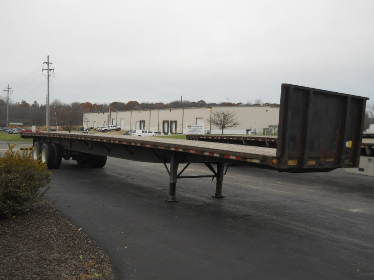 Flatbed Trailer-Semi Trailers-Great Dane-2012-Trailer-MIDDLEFIELD-OH-219,983 miles-$20,000