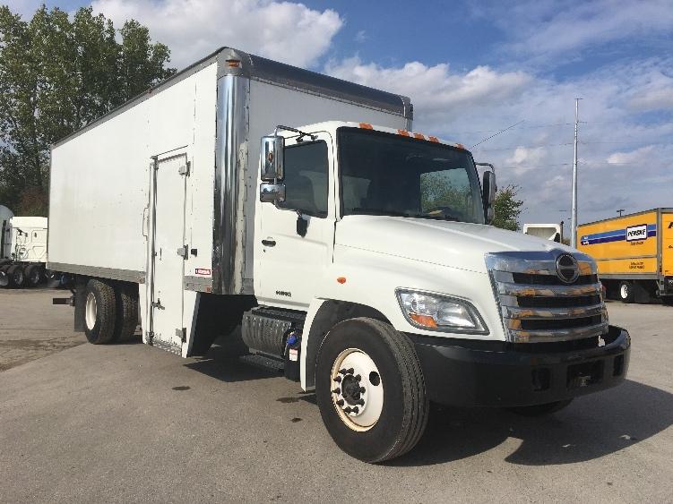 Medium Duty Box Truck-Light and Medium Duty Trucks-Hino-2012-268-LANSING-MI-271,568 miles-$29,000