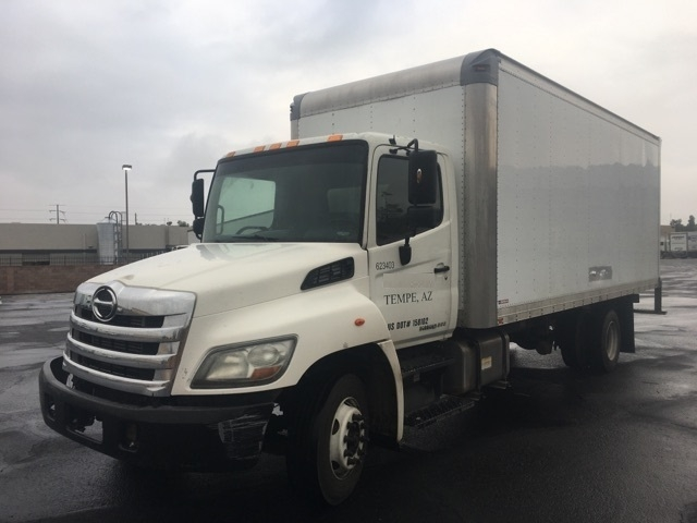 Medium Duty Box Truck-Light and Medium Duty Trucks-Hino-2012-258LP-PHOENIX-AZ-298,975 miles-$22,250