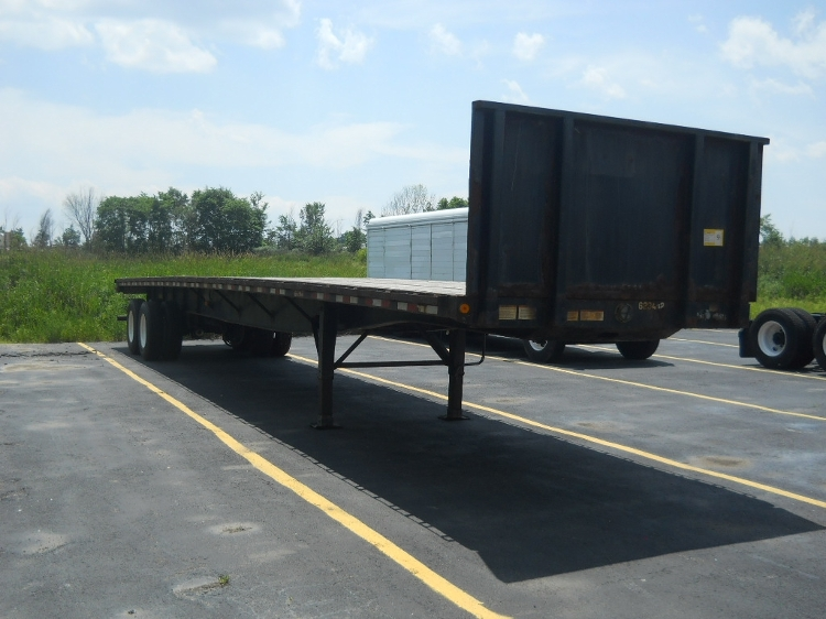 Flatbed Trailer-Semi Trailers-Great Dane-2012-Trailer-MIDDLEFIELD-OH-162,529 miles-$18,000