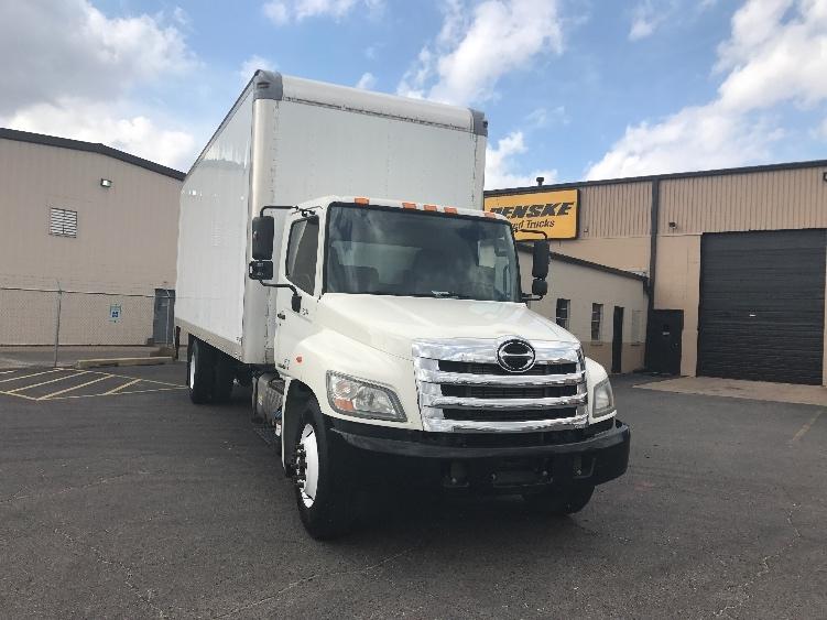 Medium Duty Box Truck-Light and Medium Duty Trucks-Hino-2012-338-DALLAS-TX-298,867 miles-$26,750
