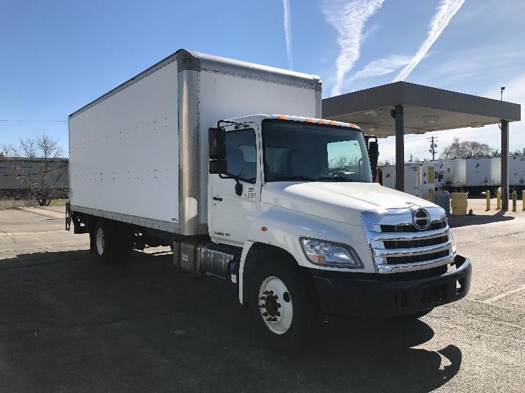 Medium Duty Box Truck-Light and Medium Duty Trucks-Hino-2012-268-ROCKFORD-IL-95,391 miles-$43,000