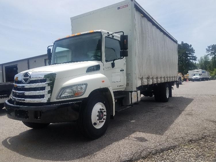 Medium Duty Box Truck-Light and Medium Duty Trucks-Hino-2012-268-SUMMERVILLE-SC-82,418 miles-$47,250