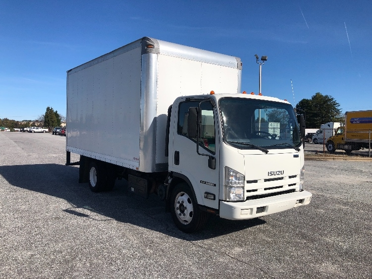 Medium Duty Box Truck-Light and Medium Duty Trucks-Isuzu-2012-NRR-GREENSBORO-NC-153,226 miles-$31,000