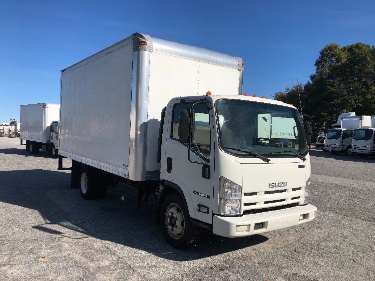 Medium Duty Box Truck-Light and Medium Duty Trucks-Isuzu-2012-NRR-GREENSBORO-NC-146,993 miles-$22,750