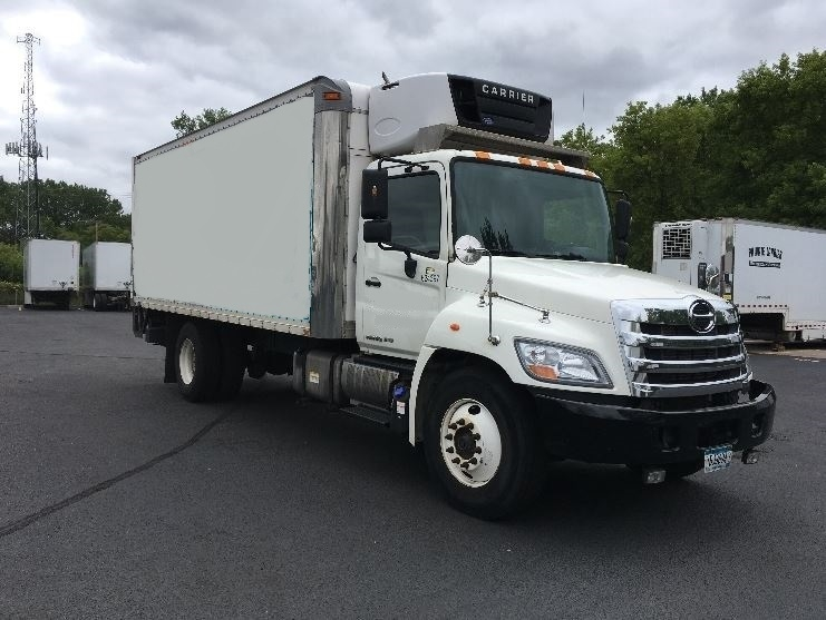 Reefer Truck-Light and Medium Duty Trucks-Hino-2012-268-ROSEVILLE-MN-251,191 miles-$25,250