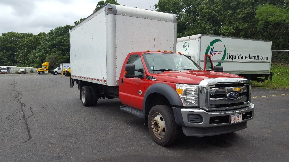 Medium Duty Box Truck-Light and Medium Duty Trucks-Ford-2011-F550-LAWRENCE-MA-174,874 miles-$23,500