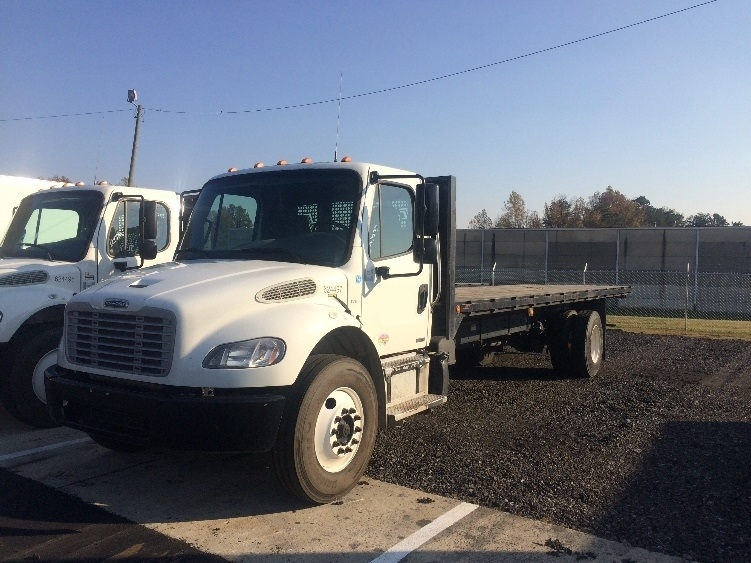 Flatbed Truck-Light and Medium Duty Trucks-Freightliner-2012-M2-MEBANE-NC-235,969 miles-$25,750