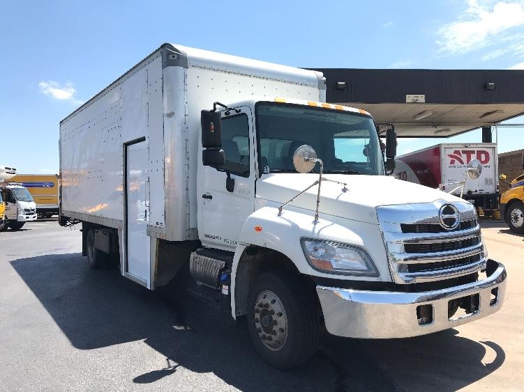 Medium Duty Box Truck-Light and Medium Duty Trucks-Hino-2012-258LP-TULSA-OK-306,487 miles-$27,000