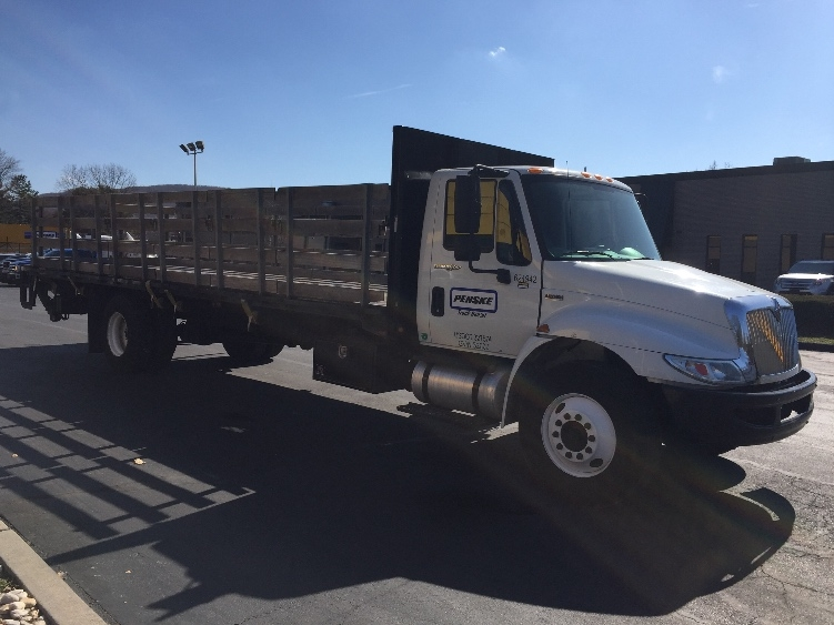Flatbed Truck-Light and Medium Duty Trucks-International-2012-4300-READING-PA-153,142 miles-$40,250