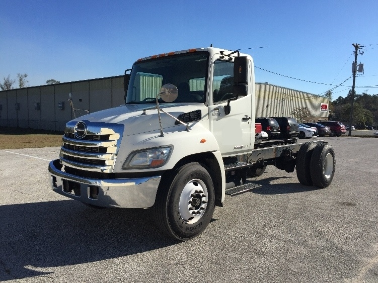 Cab and Chassis Truck-Light and Medium Duty Trucks-Hino-2012-268-TALLAHASSEE-FL-259,897 miles-$34,250