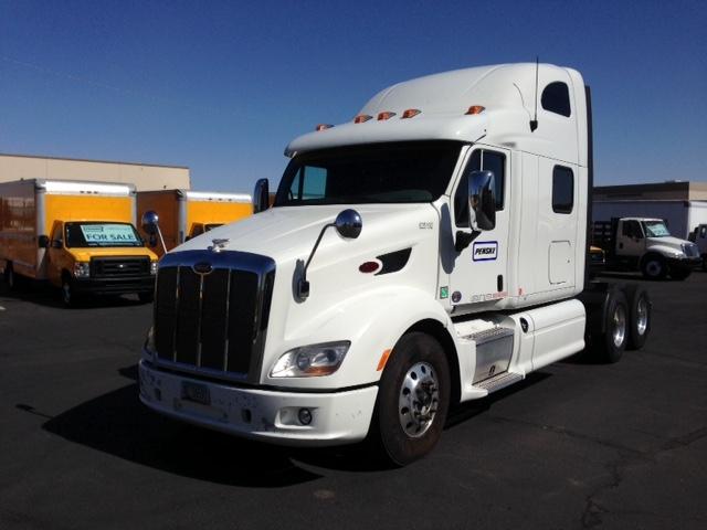 Sleeper Tractor-Heavy Duty Tractors-Peterbilt-2012-587-PHOENIX-AZ-432,276 miles-$53,500