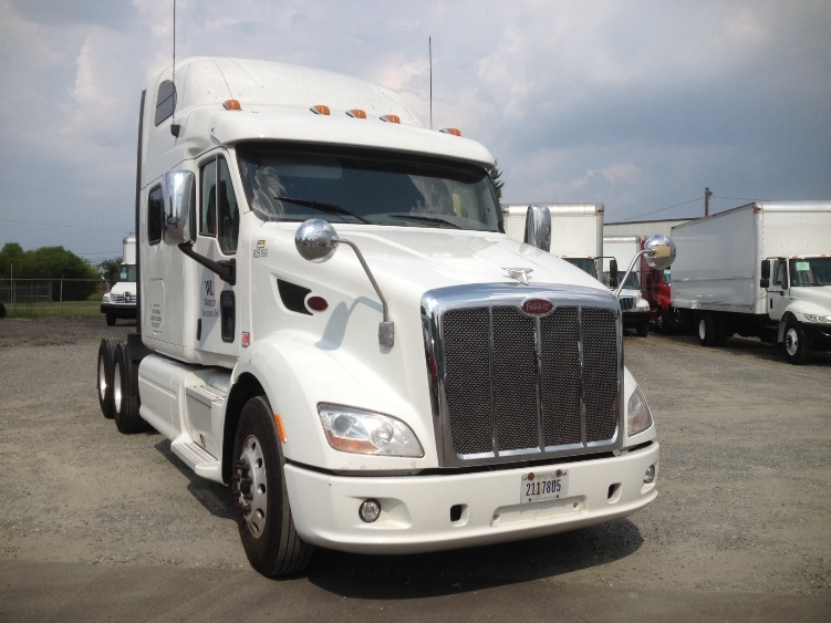 Sleeper Tractor-Heavy Duty Tractors-Peterbilt-2012-587-CHARLOTTE-NC-440,250 miles-$54,750