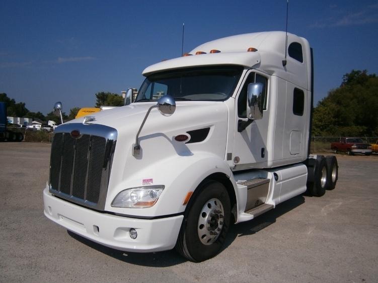 Sleeper Tractor-Heavy Duty Tractors-Peterbilt-2012-587-KANSAS CITY-MO-366,622 miles-$61,250
