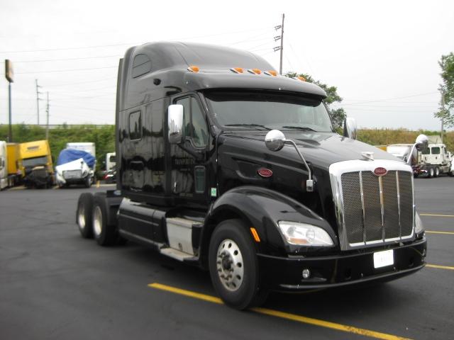 Sleeper Tractor-Heavy Duty Tractors-Peterbilt-2012-587-FORT WAYNE-IN-448,409 miles-$42,500