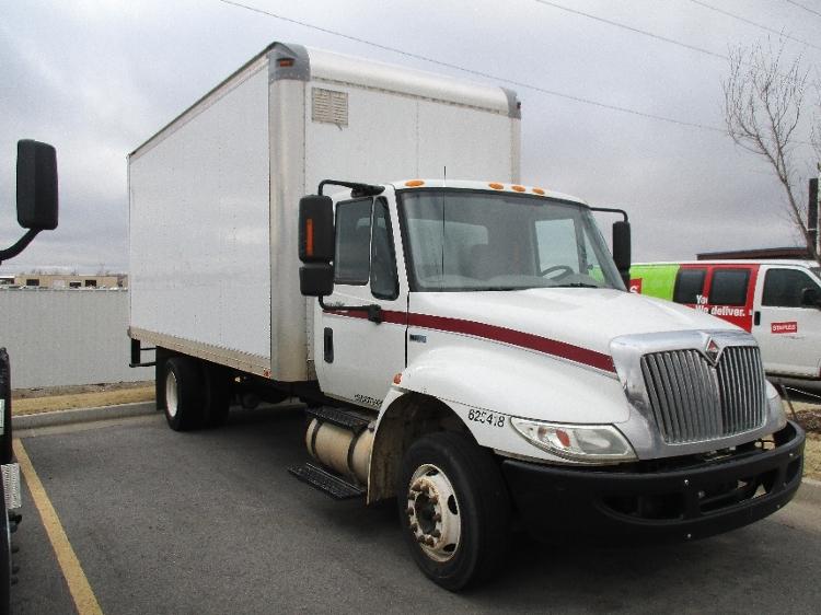 Medium Duty Box Truck-Light and Medium Duty Trucks-International-2012-4300LP-OKLAHOMA CITY-OK-201,671 miles-$19,750