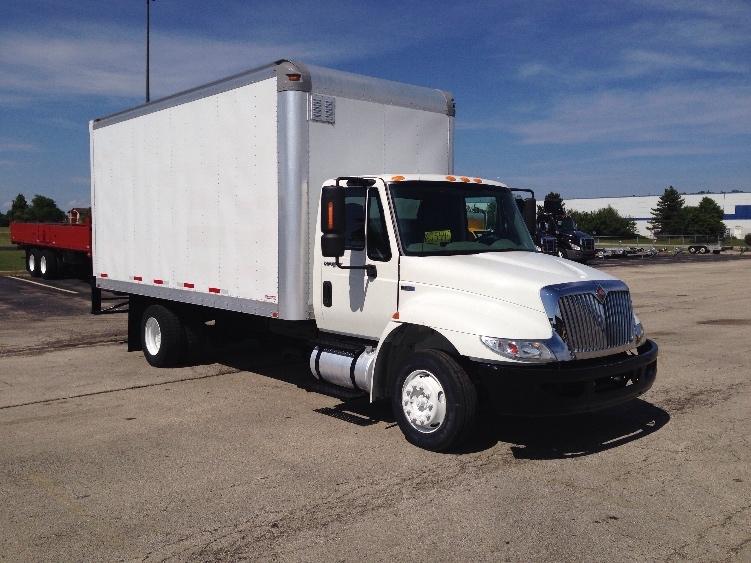 Medium Duty Box Truck-Light and Medium Duty Trucks-International-2012-4300LP-ROMEOVILLE-IL-205,314 miles-$22,000