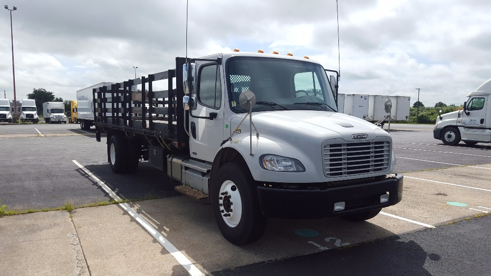 Flatbed Truck-Light and Medium Duty Trucks-Freightliner-2012-M2-HARRISBURG-PA-316,634 miles-$26,000