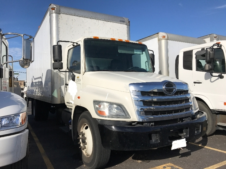 Medium Duty Box Truck-Light and Medium Duty Trucks-Hino-2012-268-DALLAS-TX-315,259 miles-$11,500