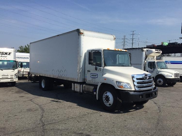Medium Duty Box Truck-Light and Medium Duty Trucks-Hino-2012-338-NORTH BERGEN-NJ-99,321 miles-$40,500