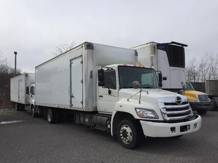 Medium Duty Box Truck-Light and Medium Duty Trucks-Hino-2012-258LP-HARRISBURG-PA-215,546 miles-$38,000