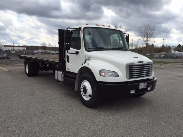 Flatbed Truck-Light and Medium Duty Trucks-Freightliner-2012-M2-AKRON-OH-274,379 miles-$33,000