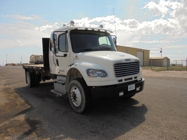 Flatbed Truck-Light and Medium Duty Trucks-Freightliner-2012-M2-LUBBOCK-TX-97,712 miles-$54,000