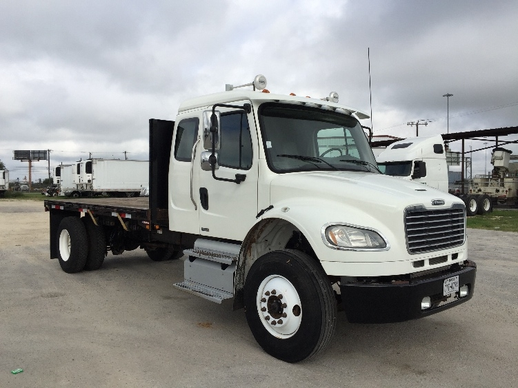 Flatbed Truck-Light and Medium Duty Trucks-Freightliner-2012-M2-SAN ANTONIO-TX-198,227 miles-$46,250