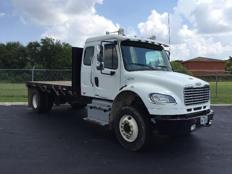Flatbed Truck-Light and Medium Duty Trucks-Freightliner-2012-M2-SAN ANTONIO-TX-172,815 miles-$43,750