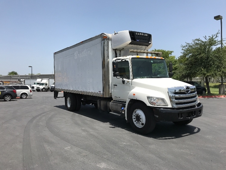 Reefer Truck-Light and Medium Duty Trucks-Hino-2012-268-AUSTIN-TX-277,084 miles-$21,000