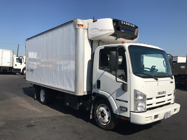 Reefer Truck-Light and Medium Duty Trucks-Isuzu-2012-NQR-TORRANCE-CA-113,758 miles-$29,500