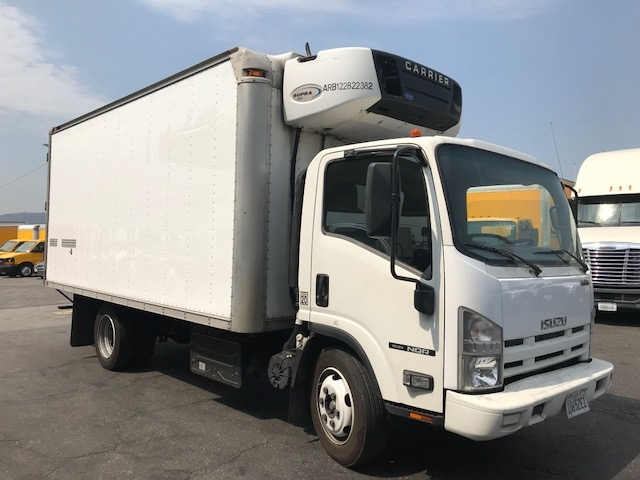 Reefer Truck-Light and Medium Duty Trucks-Isuzu-2012-NQR-TORRANCE-CA-114,409 miles-$29,500