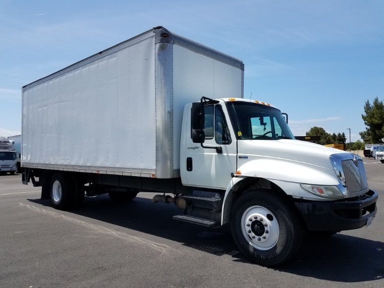Medium Duty Box Truck-Light and Medium Duty Trucks-International-2012-4300-WEST SACRAMENTO-CA-234,873 miles-$22,750