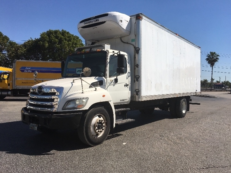Reefer Truck-Light and Medium Duty Trucks-Hino-2012-338-MEDLEY-FL-166,814 miles-$32,000