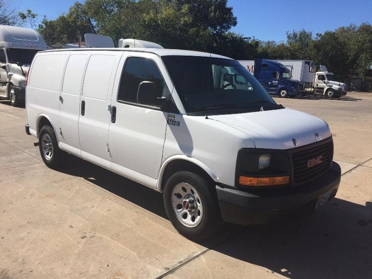 Cargo Van (Panel Van)-Light and Medium Duty Trucks-GMC-2012-Savana G13405-HOUSTON-TX-133,284 miles-$12,250