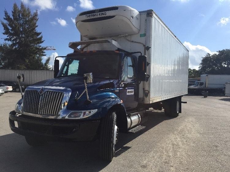 Reefer Truck-Light and Medium Duty Trucks-International-2012-4300-POMPANO BEACH-FL-120,685 miles-$45,000