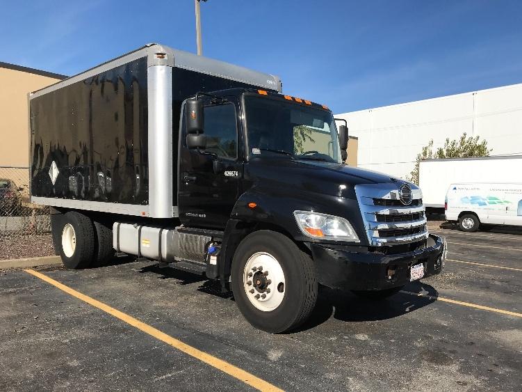Medium Duty Box Truck-Light and Medium Duty Trucks-Hino-2012-268-MEDFORD-MA-121,500 miles-$34,250
