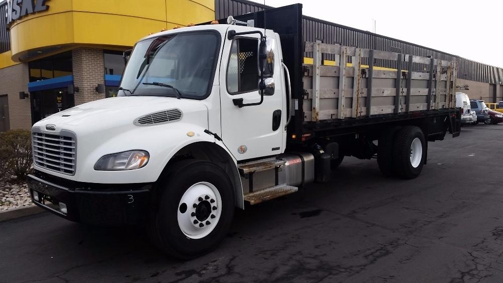 Flatbed Truck-Light and Medium Duty Trucks-Freightliner-2012-M2-CARLISLE-PA-178,135 miles-$26,750