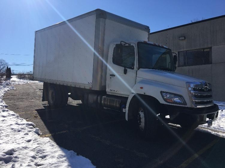 Medium Duty Box Truck-Light and Medium Duty Trucks-Hino-2012-268-WATERBURY-CT-291,775 miles-$25,500