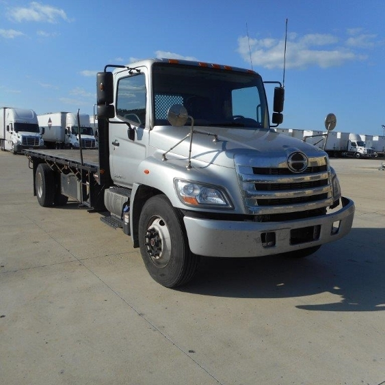 Flatbed Truck-Light and Medium Duty Trucks-Hino-2012-268-COLUMBUS-OH-281,522 miles-$19,500