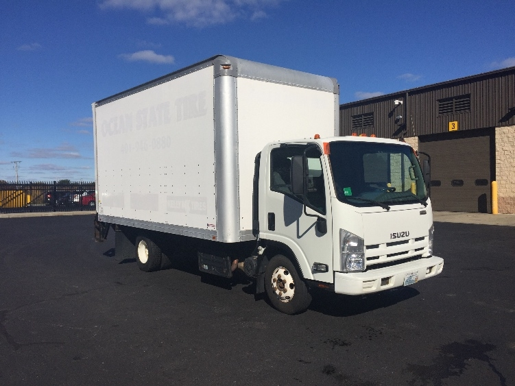 Medium Duty Box Truck-Light and Medium Duty Trucks-Isuzu-2012-NPR-CRANSTON-RI-155,271 miles-$24,250