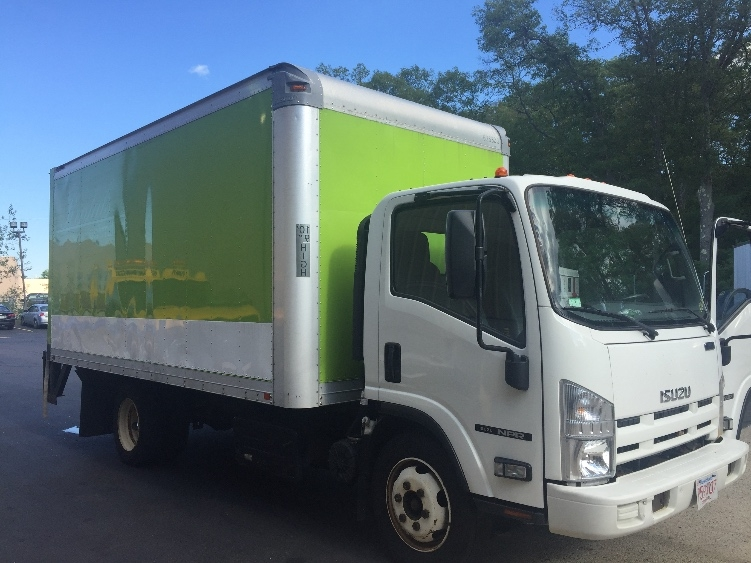 Medium Duty Box Truck-Light and Medium Duty Trucks-Isuzu-2012-NQR-BRAINTREE-MA-166,724 miles-$24,500