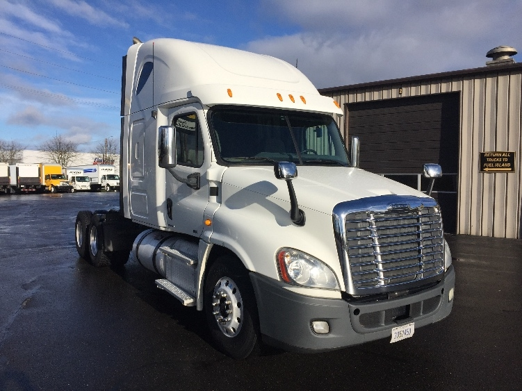 Sleeper Tractor-Heavy Duty Tractors-Freightliner-2012-Cascadia 12564ST-PORTLAND-OR-320,409 miles-$52,250