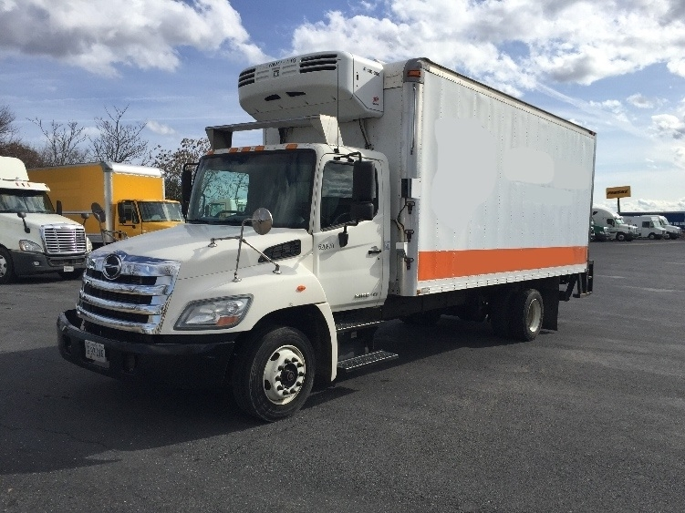 Reefer Truck-Light and Medium Duty Trucks-Hino-2012-258LP-CHARLOTTESVILLE-VA-286,121 miles-$10,250