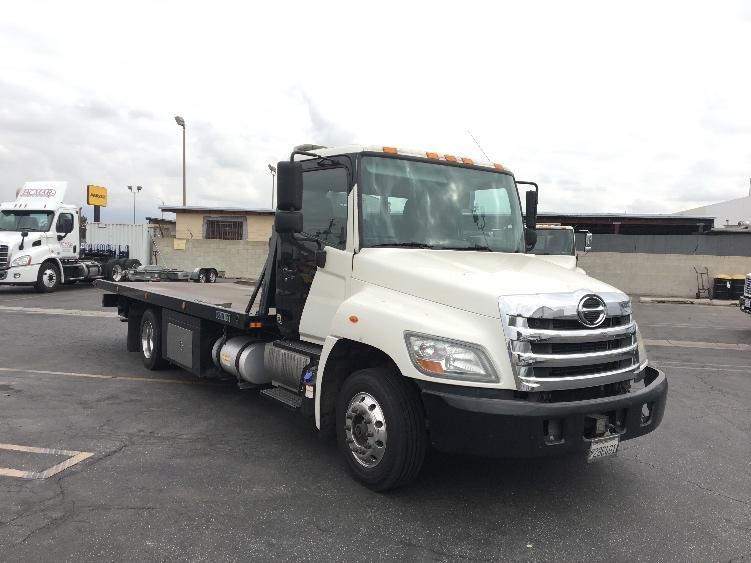 Flatbed Truck-Light and Medium Duty Trucks-Hino-2012-258LP-TORRANCE-CA-250,654 miles-$42,000