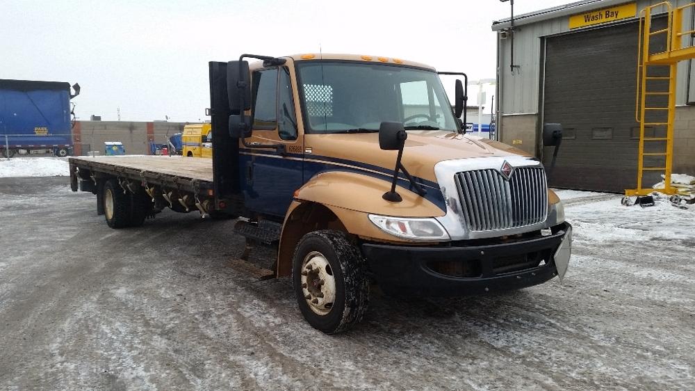 Flatbed Truck-Light and Medium Duty Trucks-International-2012-4300LP-HAMILTON-ON-437,210 km-$28,000