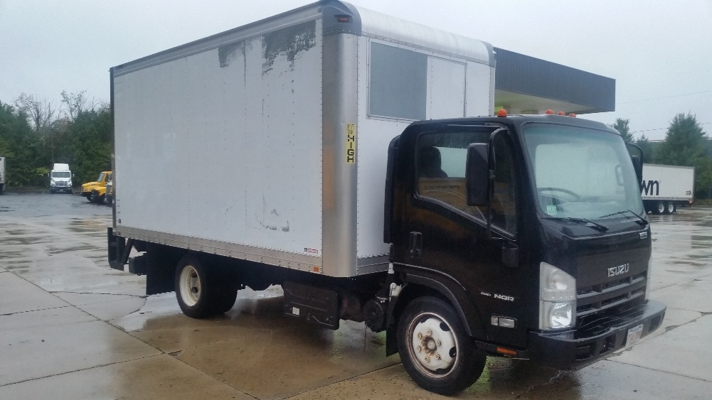 Medium Duty Box Truck-Light and Medium Duty Trucks-Isuzu-2012-NQR-FRAMINGHAM-MA-80,250 miles-$28,750