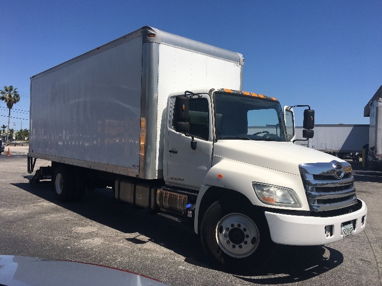 Medium Duty Box Truck-Light and Medium Duty Trucks-Hino-2012-338-MEDLEY-FL-125,514 miles-$33,000