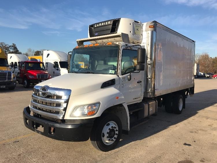 Reefer Truck-Light and Medium Duty Trucks-Hino-2012-258LP-HAMMOND-LA-57,129 miles-$43,750