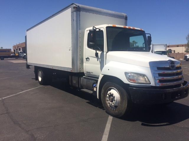 Medium Duty Box Truck-Light and Medium Duty Trucks-Hino-2012-268-PHOENIX-AZ-103,335 miles-$43,250